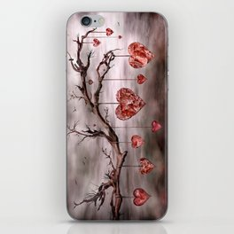 The new love tree iPhone Skin