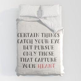 Heart Captured Comforters