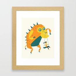 MONSTER (4) Framed Art Print