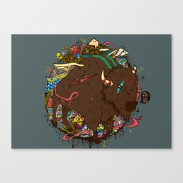 Eye Miss Us Canvas Print