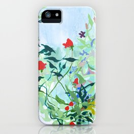 Tangled Garden iPhone Case