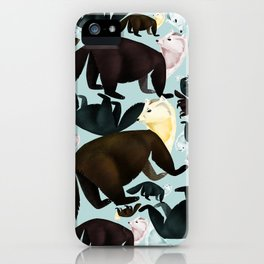 Zibellina Marten Vintage iPhone Case