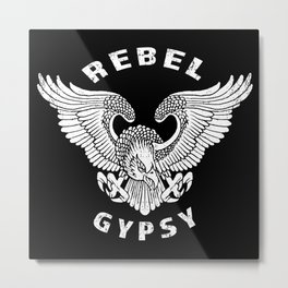 Rebel Gypsy Metal Print