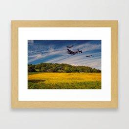 Battle of Britain Memorial Flight Framed Art Print