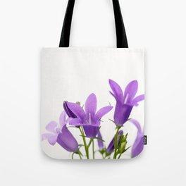 PURPLE FLOWERS - Bellflowers #2 #decor #art #society6 Tote Bag
