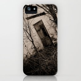 Entry iPhone Case