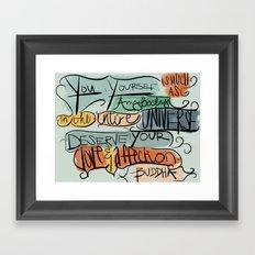 Love & Affection Framed Art Print