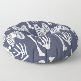 Bones Pattern Floor Pillow