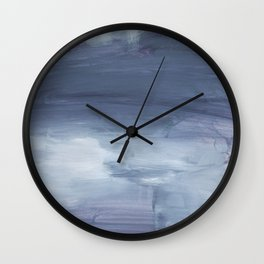 Number 80 Abstract Sky Wall Clock