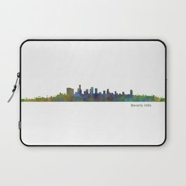 Beverly Hills City in LA City Skyline HQ v1 Laptop Sleeve