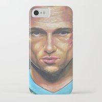 tyler durden iPhone & iPod Cases featuring FIGHT CLUB - TYLER DURDEN by John McGlynn