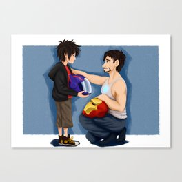 Tadashi Would Be So Proud Canvas Print
