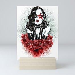 Lady Of The Roses Mini Art Print