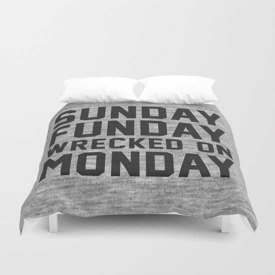 Sunday Funday Duvet Cover