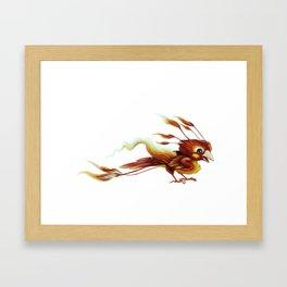 Little Phoenix Framed Art Print