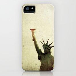 Understanding Liberty  iPhone Case