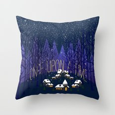 Once Upon a Time In Storybrooke Throw Pillow