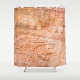 Texture Forum Romanum Shower Curtain