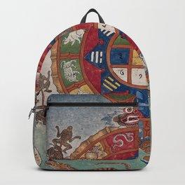 Tibetan Blood-letting Chart Backpack