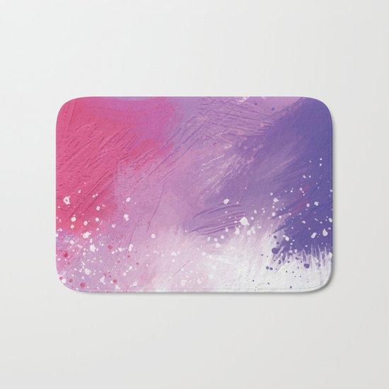 Paint Brushing Bath Mat