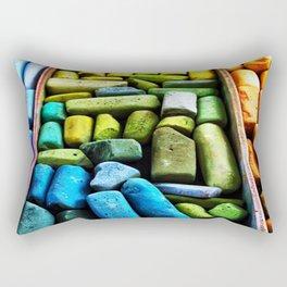 Color Sticks Rectangular Pillow