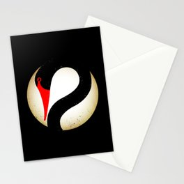 Black Swan Logo Stationery Cards