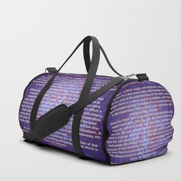 Cooperation - Quote Duffle Bag