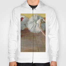 Two Ballet Dancers By Edgar Degas | Reproduction | Famous French Painter Hoody