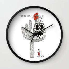 It`s a long story Wall Clock