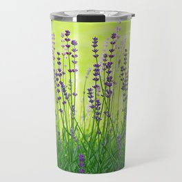 Lavender Pattern Travel Mug