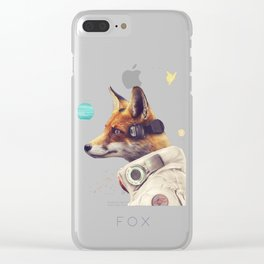 Star Team - Fox Clear iPhone Case