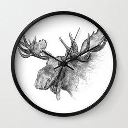 Moose , orignal Wall Clock