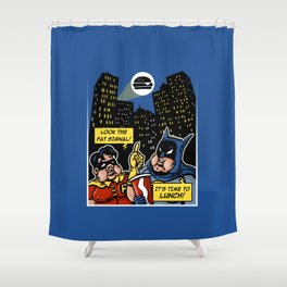 Fatman and Big Belly Shower Curtain