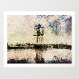 A Gallant Ship Art Print