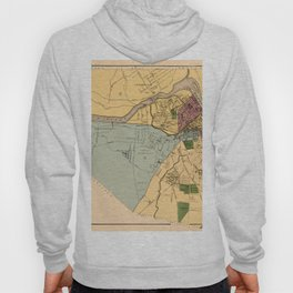 Map Of Lowell 1881 Hoody