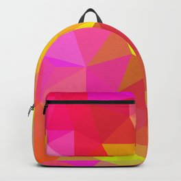 Citrus Candy Low Poly Backpack