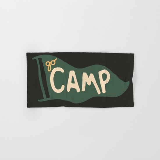 Go Camp... Hand & Bath Towel