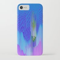 waterfall iPhone & iPod Cases featuring Waterfall by DuckyB