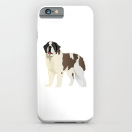 Saint Bernard Dog iPhone Case