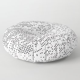Planet Surface Circle Floor Pillow