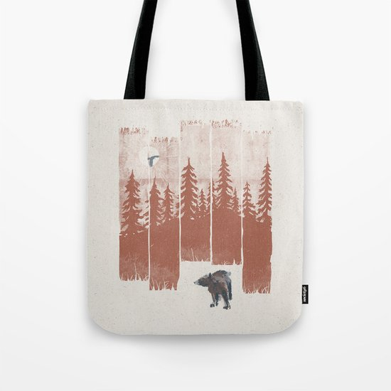 A Bear in the Wild... Tote Bag