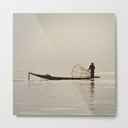 Inle Lake Myanmar Metal Print