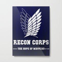 Recon Corps Metal Print