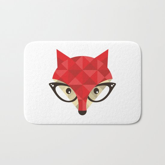 Smart Fox Bath Mat