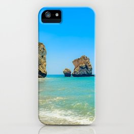 Cyprus Beach Scene iPhone Case