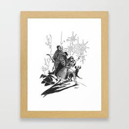 N&J  Framed Art Print