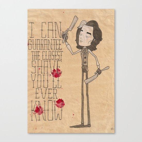 Sweeney  Canvas Print