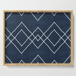Nudo in Navy Serving Tray