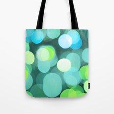 Cyan Light Tote Bag