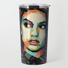 Alessia Pop Art Cara Travel Mug